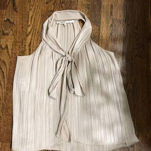 Rachel by Rachel Roy sleeveless top with tie.